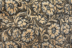Embroidery on cloth, texture Stock Images
