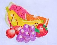 Embroidery And Cross-Stitch Design Stock Photos