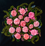 Embroidery And Cross-Stitch Design Royalty Free Stock Photo