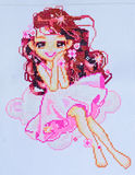 Embroidery And Cross-Stitch Design Stock Image