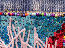 Embroidery Detail Royalty Free Stock Photo