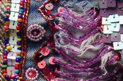Embroidery Detail Stock Images