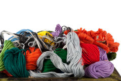 Embroidery floss Royalty Free Stock Photos