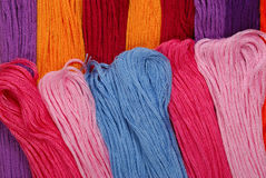 Embroidery Floss Stock Photography