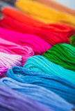The embroidery floss Royalty Free Stock Photo
