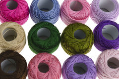 Embroidery floss Stock Photo