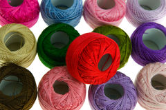 Embroidery floss Royalty Free Stock Photography