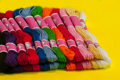 Embroidery Floss Stock Image