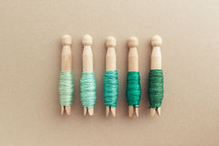 Embroidery Floss Storage Royalty Free Stock Photo