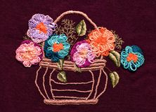 Free Embroidery, Folk Arts And Crafts, Handmade Stock Photography - 119614302