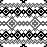 Embroidery or knit pagan slavic tribal ethnic seamless pattern Stock Photos