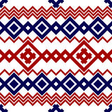 Embroidery or knit russian and ukrainian national seamless pattern. Royalty Free Stock Photos