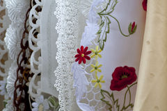 Embroidery and lace Stock Photo