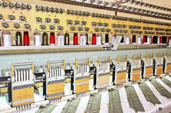 Embroidery Machine Stock Photo