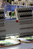 Embroidery machine Royalty Free Stock Photos