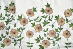 Embroidery material Stock Image