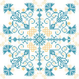 Embroidery ornament Royalty Free Stock Image