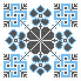 Embroidery ornament Royalty Free Stock Images