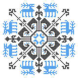 Embroidery ornament Stock Image
