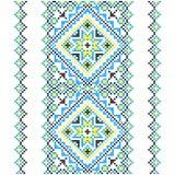 embroidery Ornamento nacional ucraniano Imagem de Stock Royalty Free