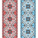 embroidery Ornamento nacional ucraniano fotos de stock