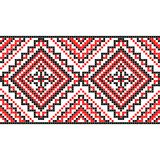 embroidery Ornamento nacional ucraniano Foto de Stock