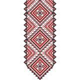 embroidery Ornamento nacional ucraniano Foto de Stock Royalty Free