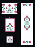Embroidery pattern Stock Images