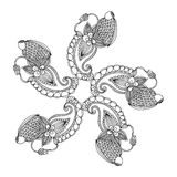 Embroidery pattern Stock Photography