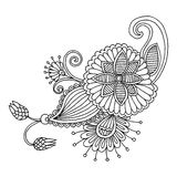 Embroidery pattern Stock Image