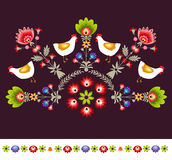 Embroidery Pattern Royalty Free Stock Photography