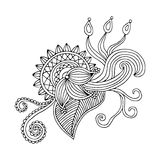 Embroidery pattern Royalty Free Stock Photo