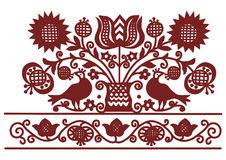 Embroidery pattern 7 Royalty Free Stock Photo