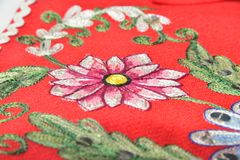 Embroidery Royalty Free Stock Photography