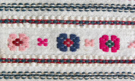 Embroidery of ritual cloth Stock Image