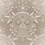 Embroidery seamless 2 Stock Photo