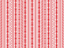 Embroidery seamless pattern Royalty Free Stock Image