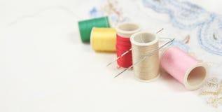 Embroidery set Stock Photos