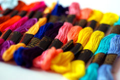 Embroidery Skeins Royalty Free Stock Photo