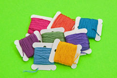 Embroidery Thread Assortment Stock Photos