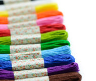 Embroidery thread Royalty Free Stock Photography