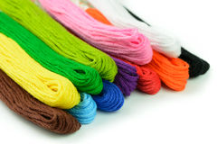 Embroidery thread Royalty Free Stock Photos