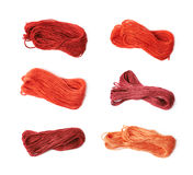 Embroidery thread yarn isolated Stock Images