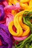 Embroidery threads Royalty Free Stock Image