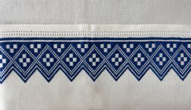 Embroidery , souvenir from croatia. Embroidery, traditional typical handmade croatian  souvenirs Stock Photography