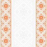 Embroidery.Ukrainian national ornament Royalty Free Stock Images