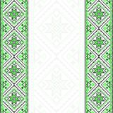Embroidery. Ukrainian national ornament Royalty Free Stock Image