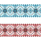 Embroidery. Ukrainian national ornament Stock Image