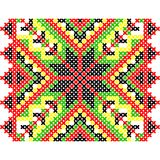 Embroidery. Ukrainian national ornament Royalty Free Stock Images