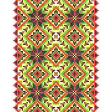 Embroidery. Ukrainian national ornament Stock Photos